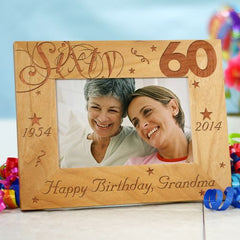 60th Birthday Frame
