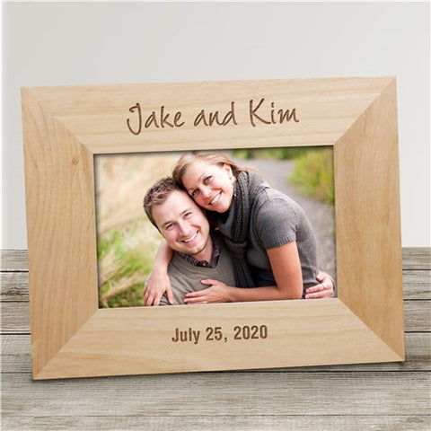 Custom Engraved Photo Frame