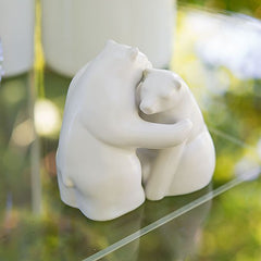 Interlocking Bear Hug Figurine Set