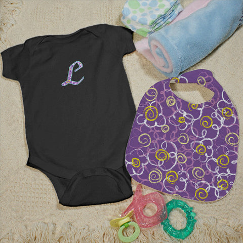 Flower Creeper & Bib Set