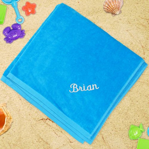 Embroidered Name Towel (5 colors)