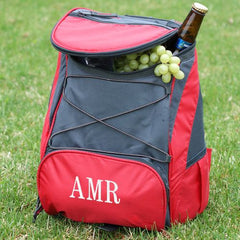 Embroidered Backpack Cooler (2 colors)