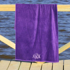 Embroidered Monogram Towel (5 colors)