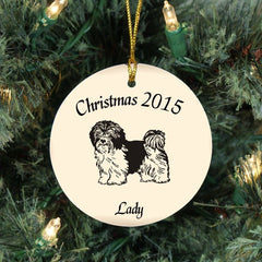 Dog Breed Personalized Ornament