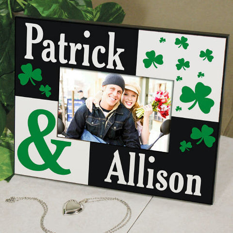 Irish Couple Personalized Frame