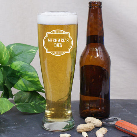 Bar Pilsner Glass