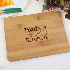 Her Kitchen Bamboo Cheese Board