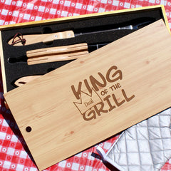 King of the Grill Set
