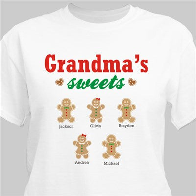 Gingerbread Kids Personalized T-Shirt