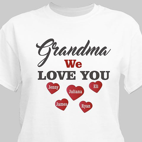 Love You Personalized T-Shirt