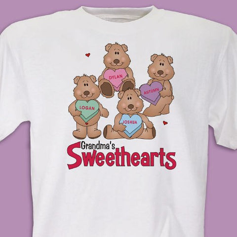 My Sweethearts Shirt Personalized T-shirt