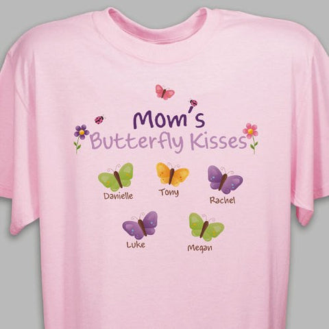 Custom Butterfly Kisses T-Shirt