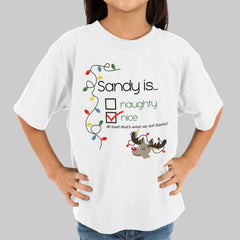 Child's Nice List Custom T-Shirt