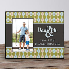 Dad & Personalized Frame