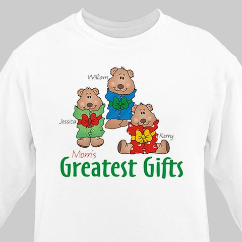 Greatest Gifts Personalized Sweatshirt