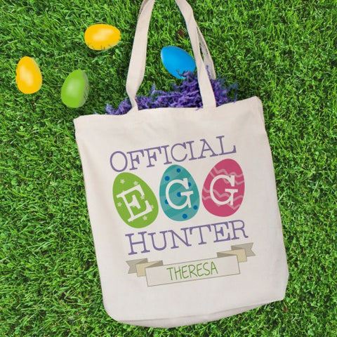 Official Easter Egg Personalized Tote Bag