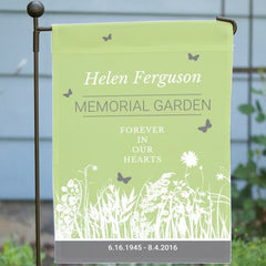 Personalized Memorial Garden- Garden Flag