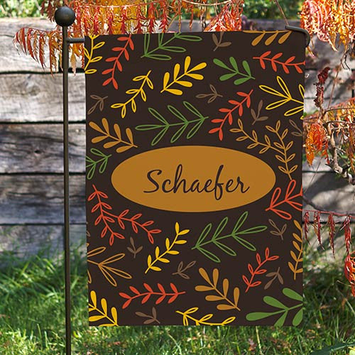Fall Branches Garden Flag