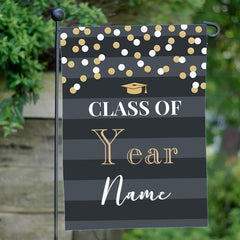 Personalized Graduation Yard Flag