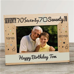 Birthday Celebration Picture Frame