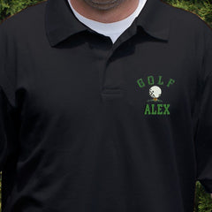 Embroidered Golf Polo Shirt (3 Colors)