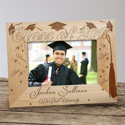 Custom Graduation Wood Picture Frame