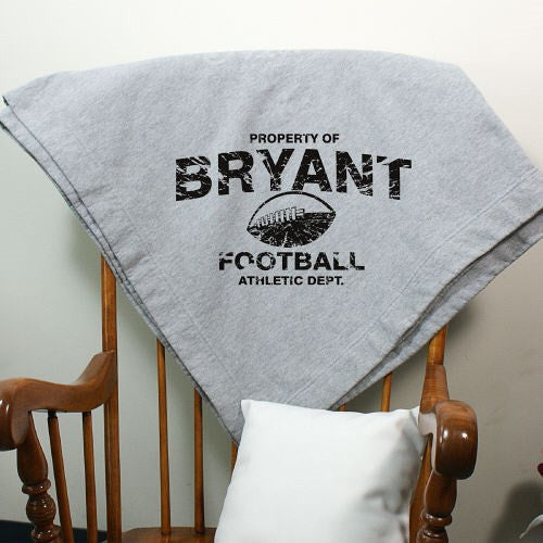 Property Of- Sports Sweatshirt Blanket