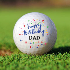 Personalized Birthday Golf Ball Set