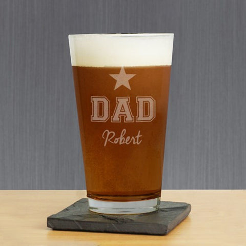 My Star Personalized Pint Glass