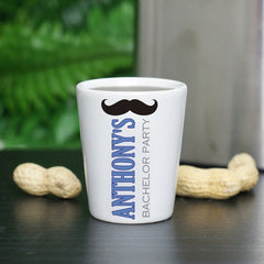 Mustache Shot Glass