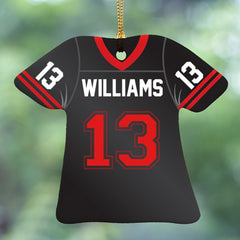 Football Jersey Personalized Ornament