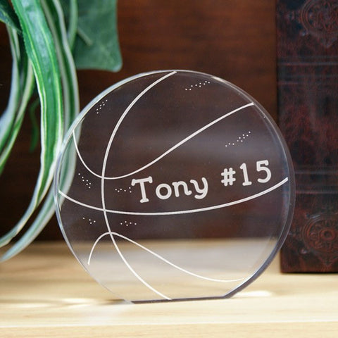 Basketball Keepsake
