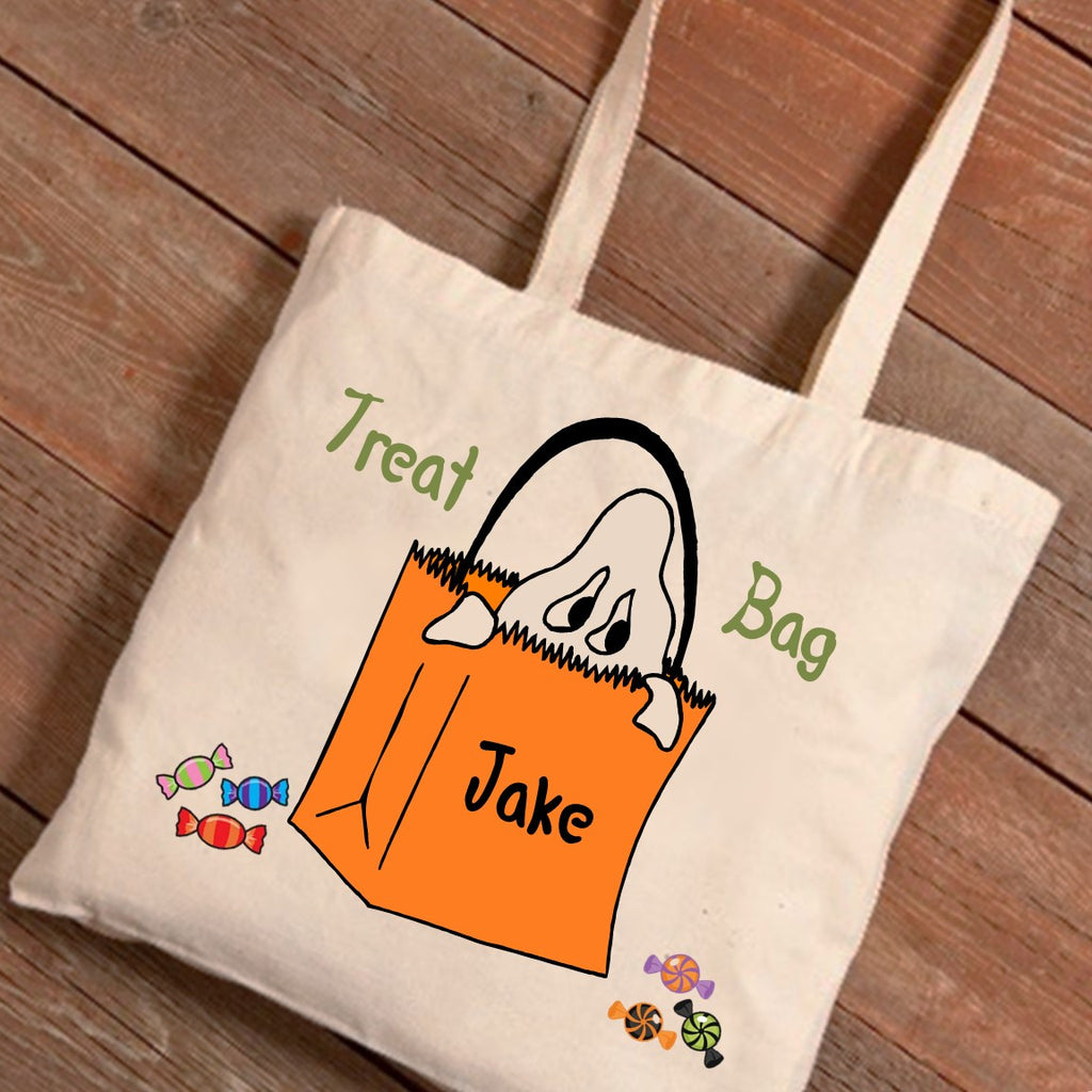 Ghost Personalized Treat Bag