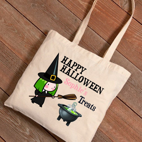 Witches Potion Personalized Treat Bag