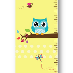 Playful Owl Growth Chart
