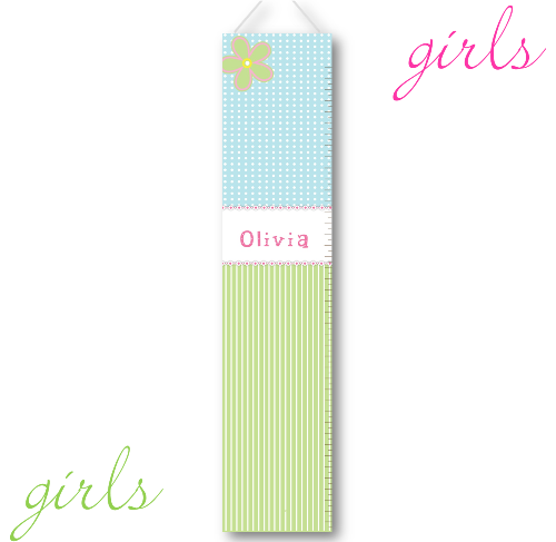 Dots & Stripes Growth Chart