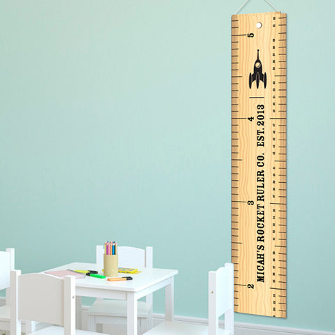 Rocket Ruler Growth Chart