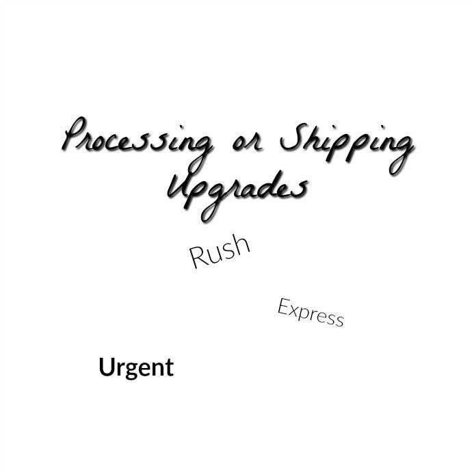 Shipping or Processing Add On