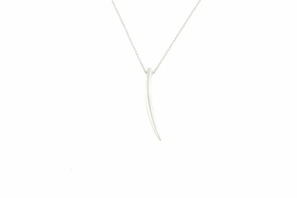 Sylvia Necklace in Silver
