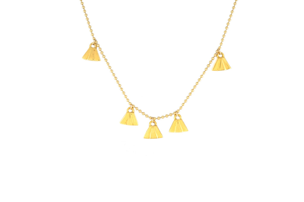 Elmore Necklace in Gold