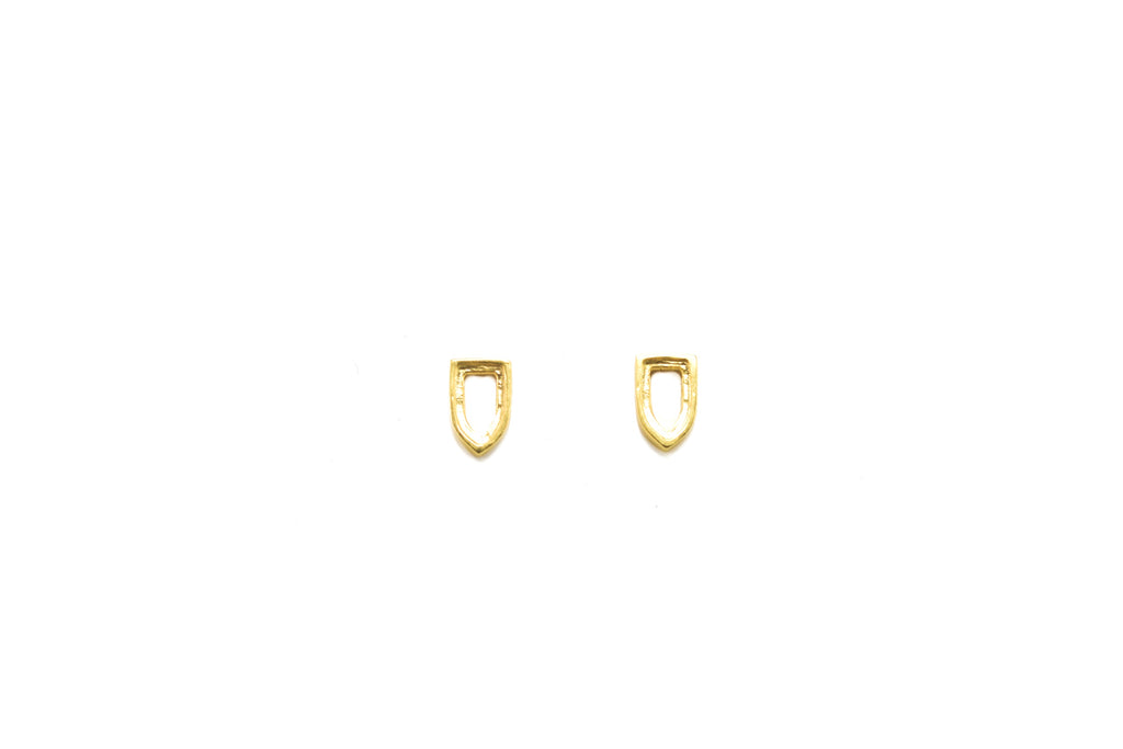 Niche Earrings in Gold