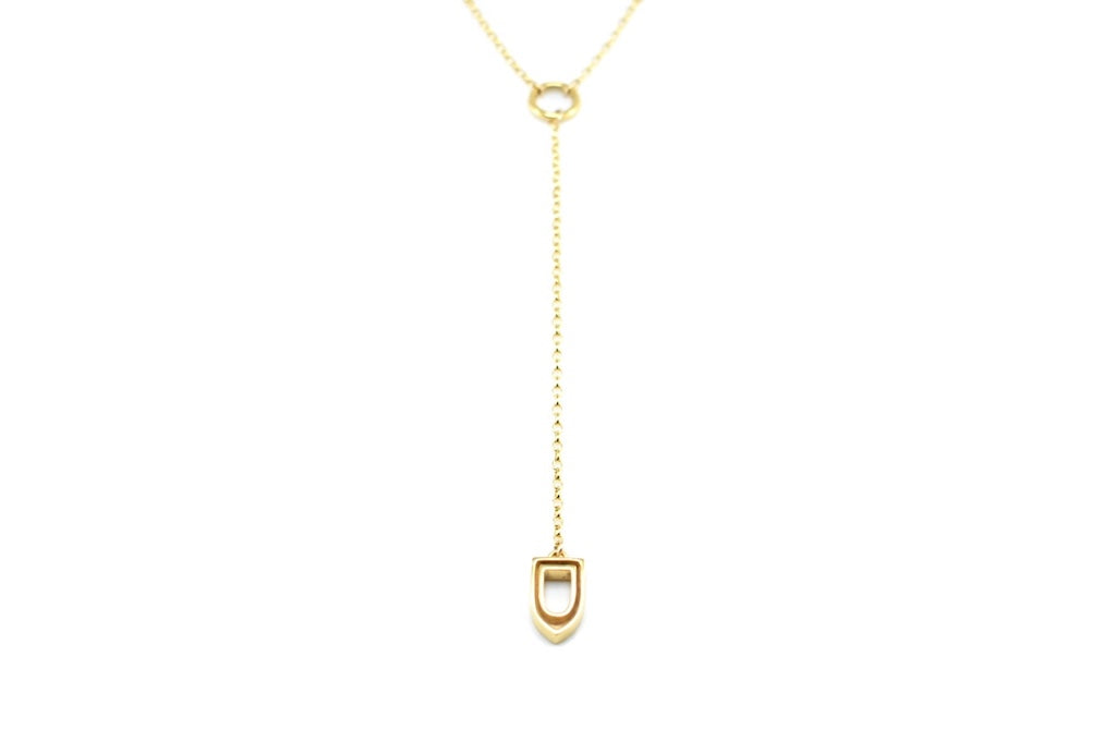 Niche Necklace I in Gold