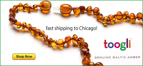 where to buy Baltic amber teething necklaces in chicago