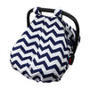"CYBER MONDAY SPECIAL - SAVE 20%! ""Peek-a-Boo""  Chevron  Carseat Canopy - Toogli - 2"