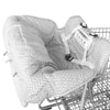 CYBER MONDAY SPECIAL - SAVE 30%! Deluxe Shopping Cart Cover - Gray & White Chevron - Toogli - 3