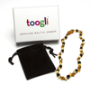 Toogli Multi Color Amber Teething Necklace
