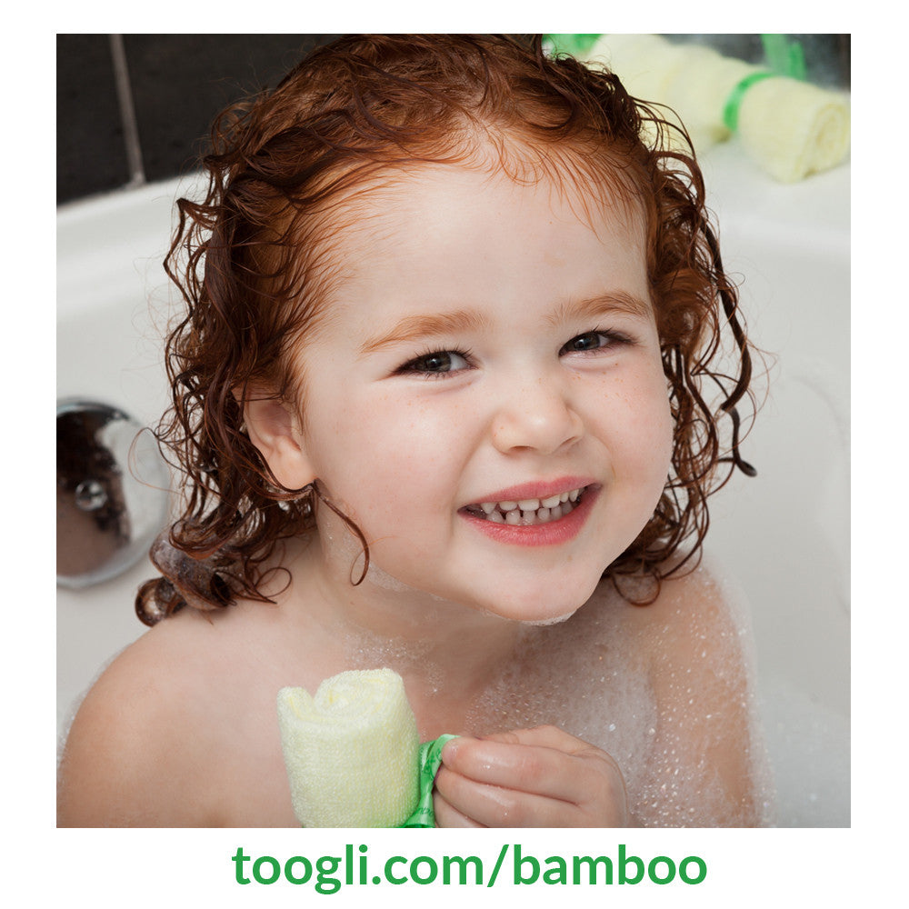CYBER MONDAY SPECIAL - SAVE 40%!  Ultra Soft Bamboo Baby Washcloths (Set of 6) - Toogli - 4
