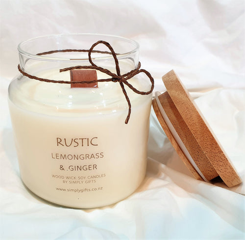 Large Scented Soy Candle Gift.