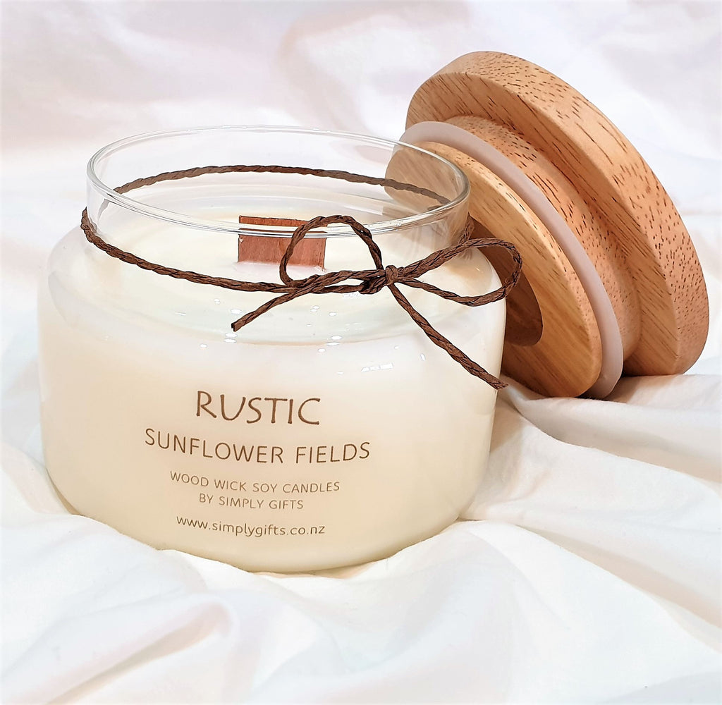 Standard scented soy candle gift