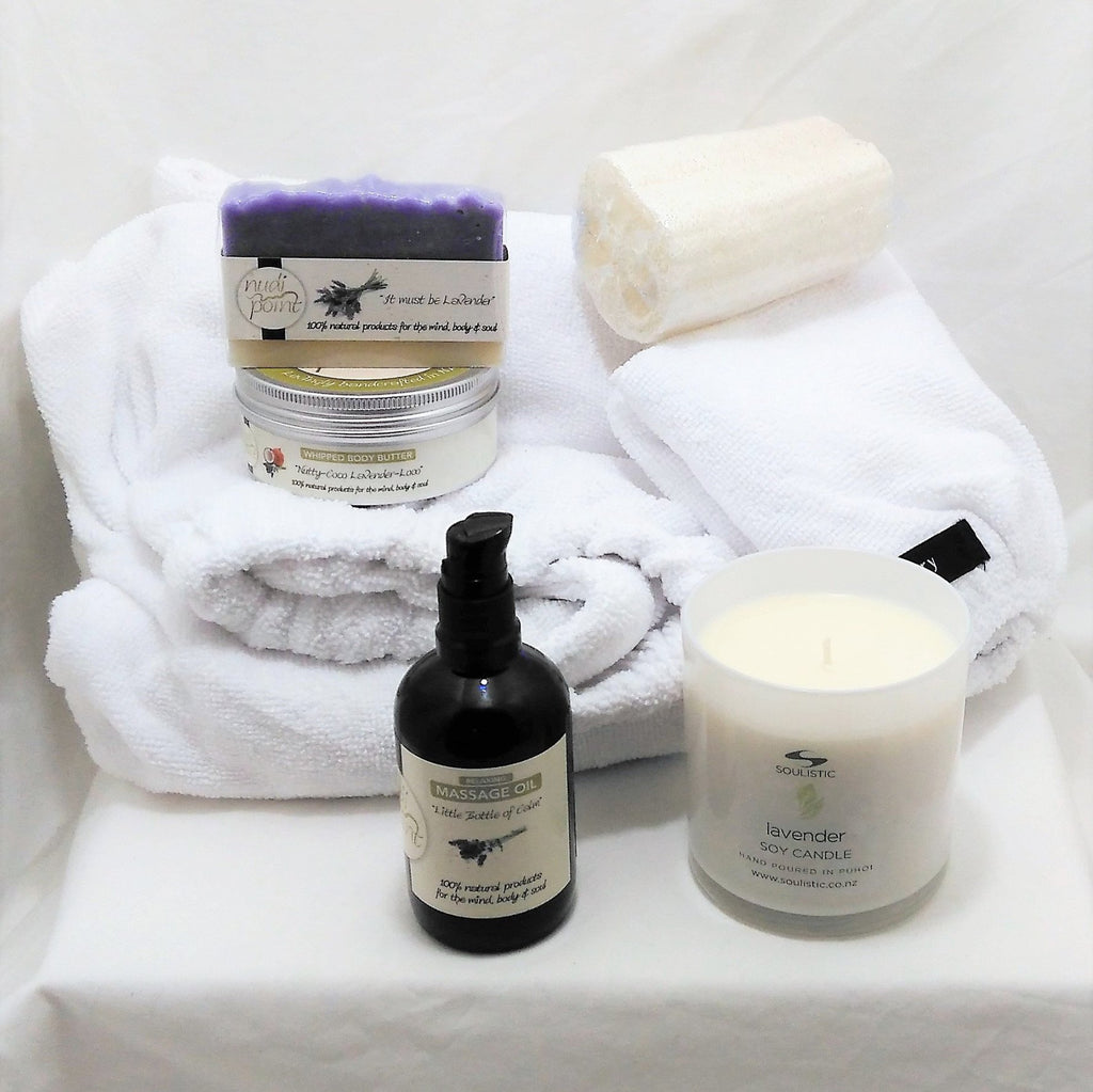Lavender pamper gift for her